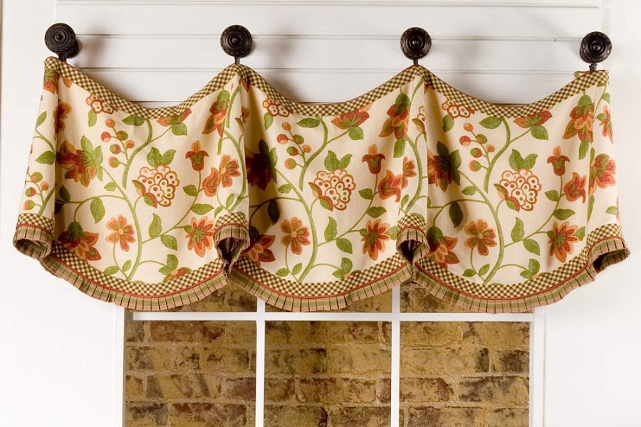 claudine curtain valance sewing pattern | pate meadows