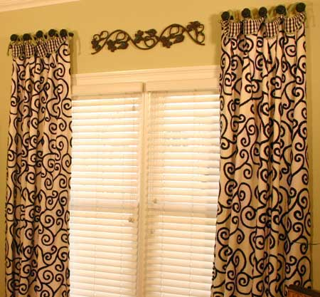 Cuff Top Panels Curtain Sewing Pattern