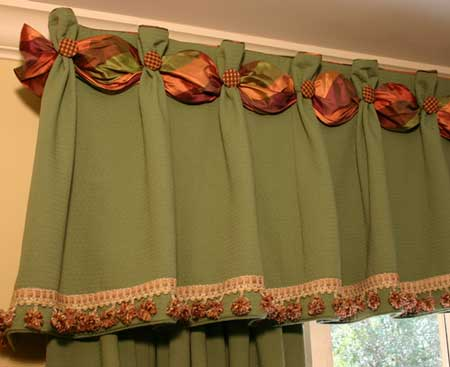 Dana Curtain Valance Sewing Pattern Pate Meadows