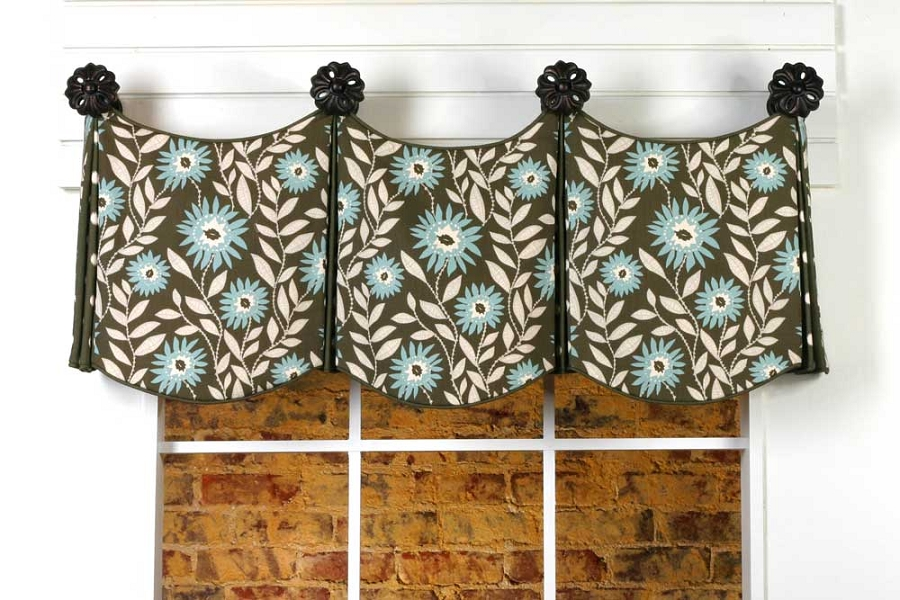 Home > Curtain Patterns > Show Home Patterns > Delaine Valance Sewing ...