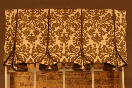 eleanor curtain valance sewing pattern