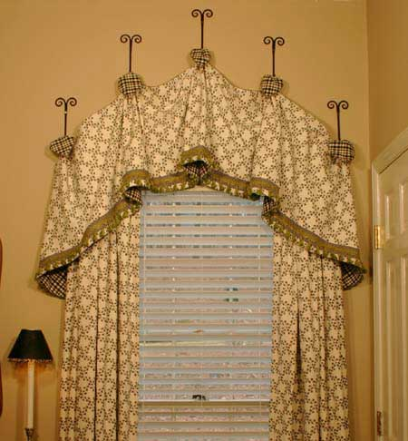 Used Elliptical For Sale >> Haley Curtain Valance Sewing Pattern | Pate Meadows