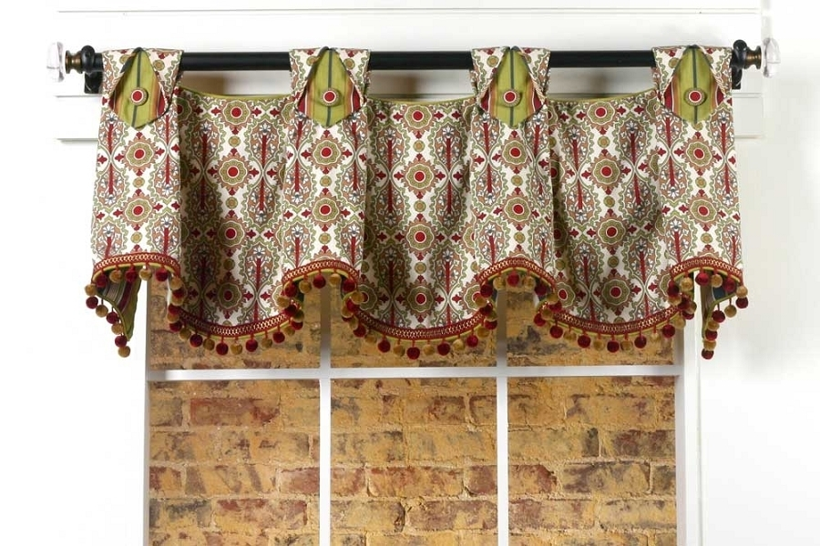 julia curtain valance sewing pattern