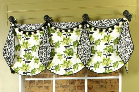 missy valance curtain and drapery pattern