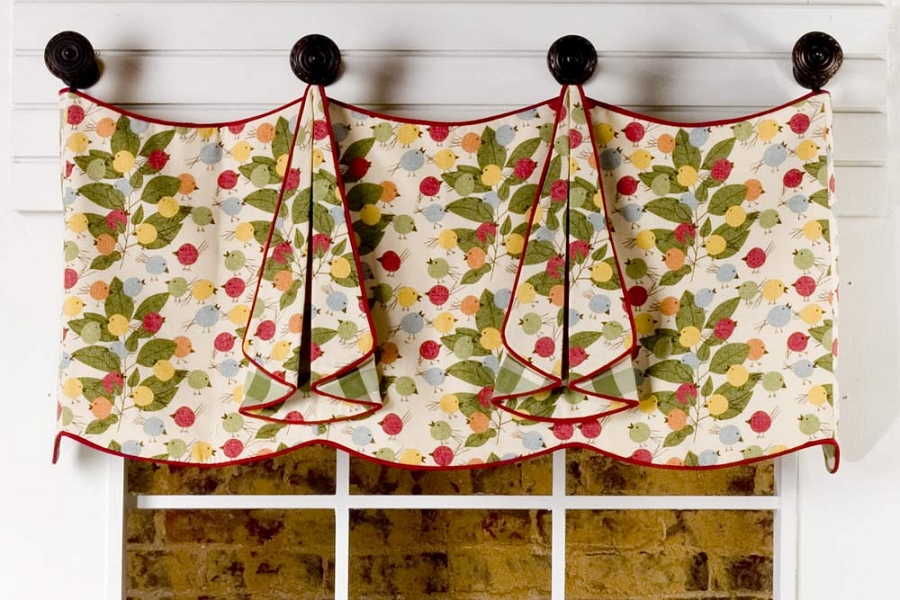 Tracy Curtain Valance Sewing Pattern Pate Meadows