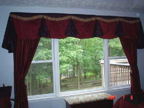 Wide Windows Curtains - Rooms