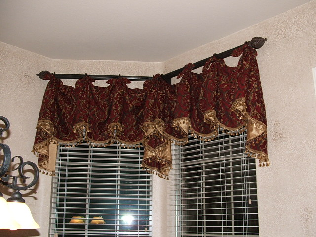 ... kitchen curtains made with your Marley pattern.