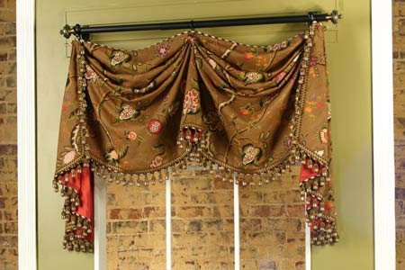 Catherine Curtain Valance Sewing Pattern Pate Meadows
