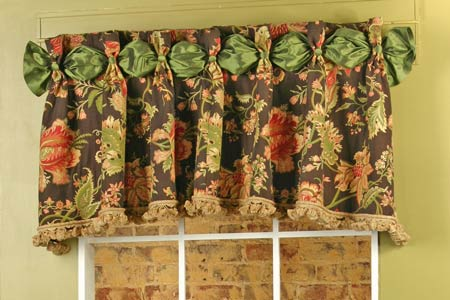 dana curtain valance sewing pattern | pate meadows
