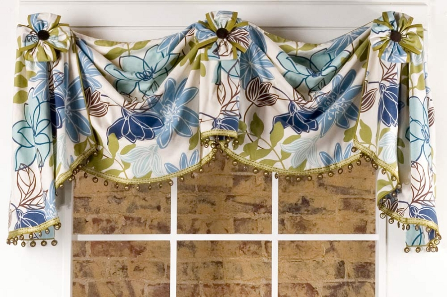 Morrison Curtain Valance Sewing Pattern Pate Meadows