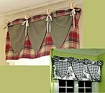 Baseball/Rosette Valance Sewing Pattern