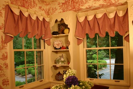 Cuff Top Curtain Valance Sewing Pattern Pate Meadows