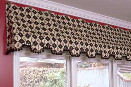 Erin Curtain Valance Sewing Pattern Pate Meadows