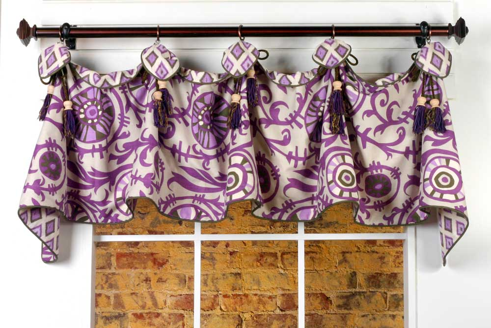 Haley Curtain Valance Sewing Pattern Pate Meadows