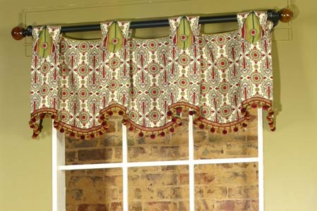 Julia Curtain Valance Sewing Pattern | Mate Meadows