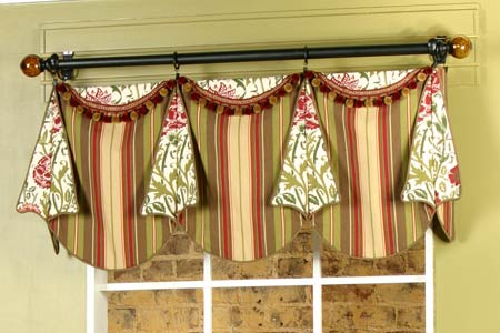 Louise Curtain Valance Sewing Pattern | Pate Meadows