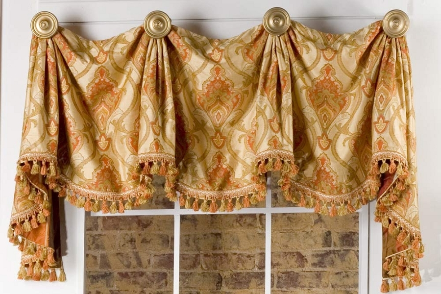 Marley Curtain Valance Sewing Pattern Pate Meadows