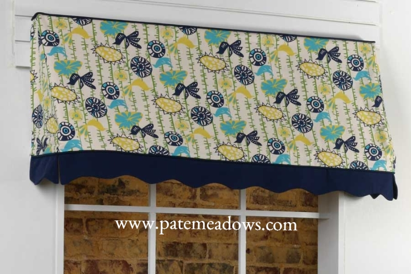 Sadie Curtain Valance Sewing Pattern
