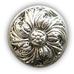 La Roundel - Antique Silver