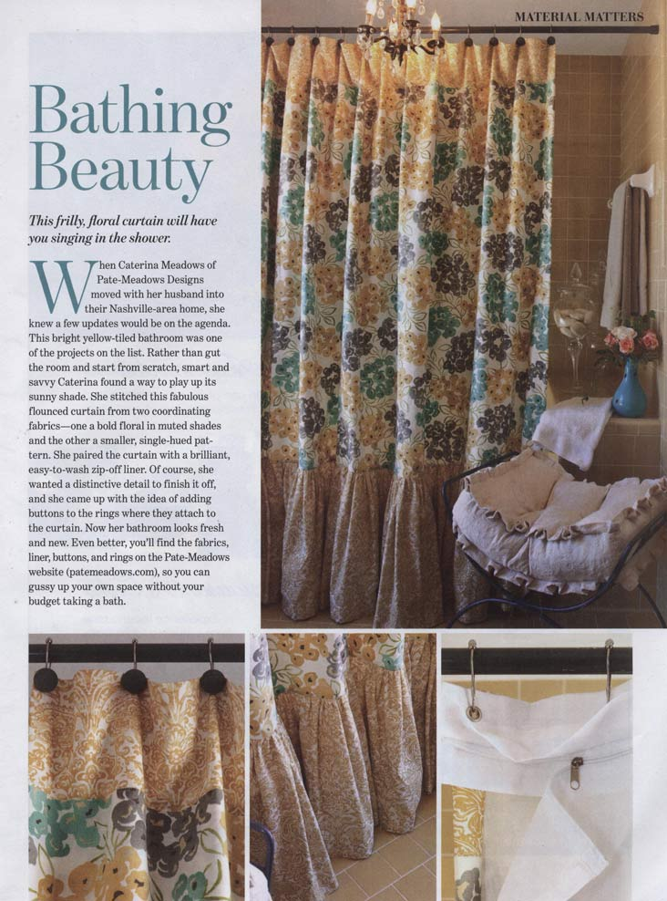 pictures of curtains in the press by pate meadows designs