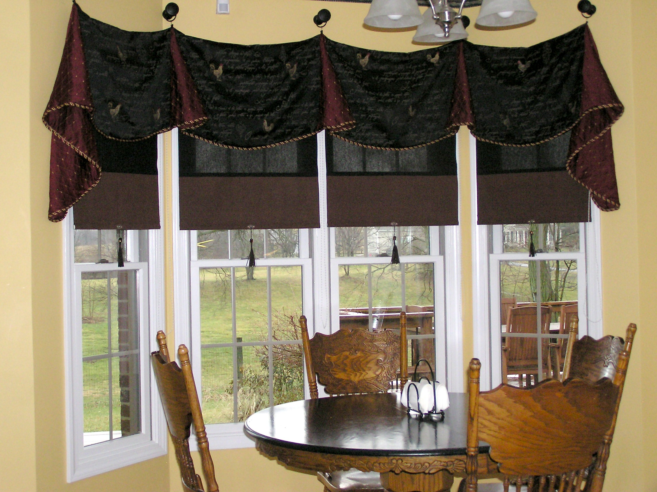 animal country gallery farm valance curtains patterns view kitchen best for in
