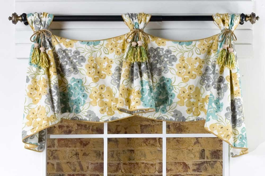 Celebrity Curtain Valance Sewing Pattern