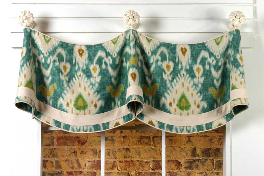 Claudine Curtain Valance Sewing Pattern Pate Meadows