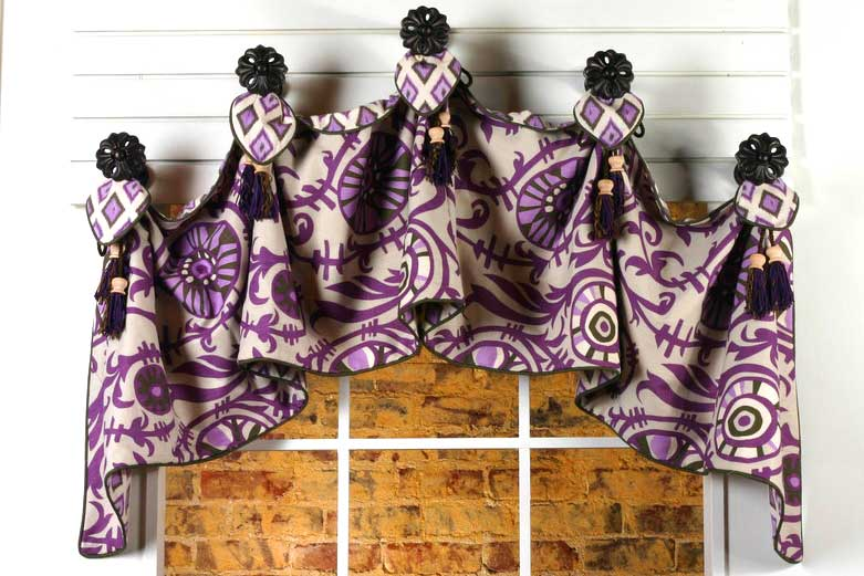 how to make a simple valance video