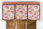 Lace-Up Valance Sewing Pattern