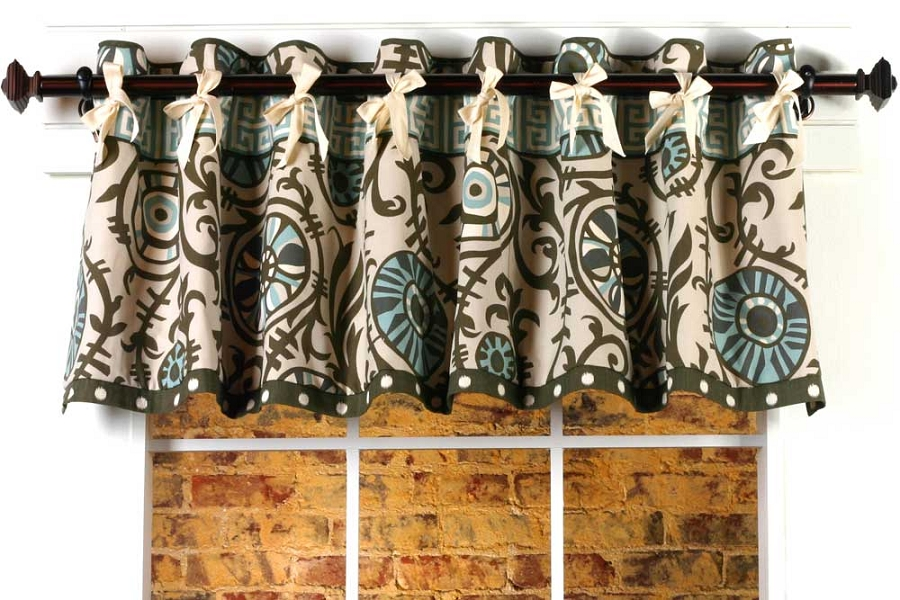 Melissa Curtain Valance Sewing Pattern | Pate Meadows