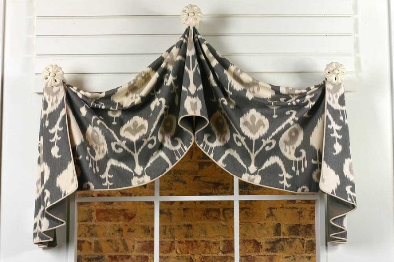 Pull Up Curtain Valance Sewing Pattern Pate Meadows