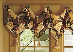 Pointed Valance with Tassels Sewing Pattern