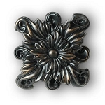 Regal Floral Knob/Finial - Medium 2-5/8