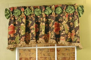 Sample Dana Valance with Tassel Trim