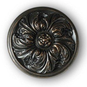 "La Roundel Knob/Finial - Medium - 3-1/8"" Diameter"