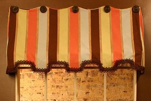 Sample Sale: Erin Awning Valance Sample
