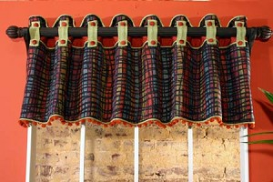 Melissa Sample Valance Multi/Orange
