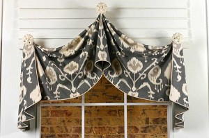 Pull-Up Valance Sewing Pattern