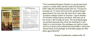 Laminated Designer Packet
