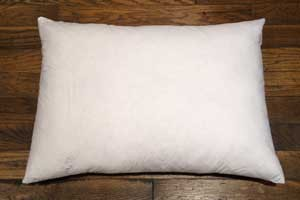 "Feather Pillow Form 14"" x 20"""