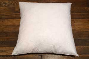 "Feather Pillow Form 18"" Square"